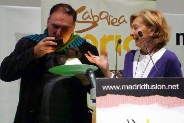 Esmeralda Capell y el cocinero asturiano José Andrés