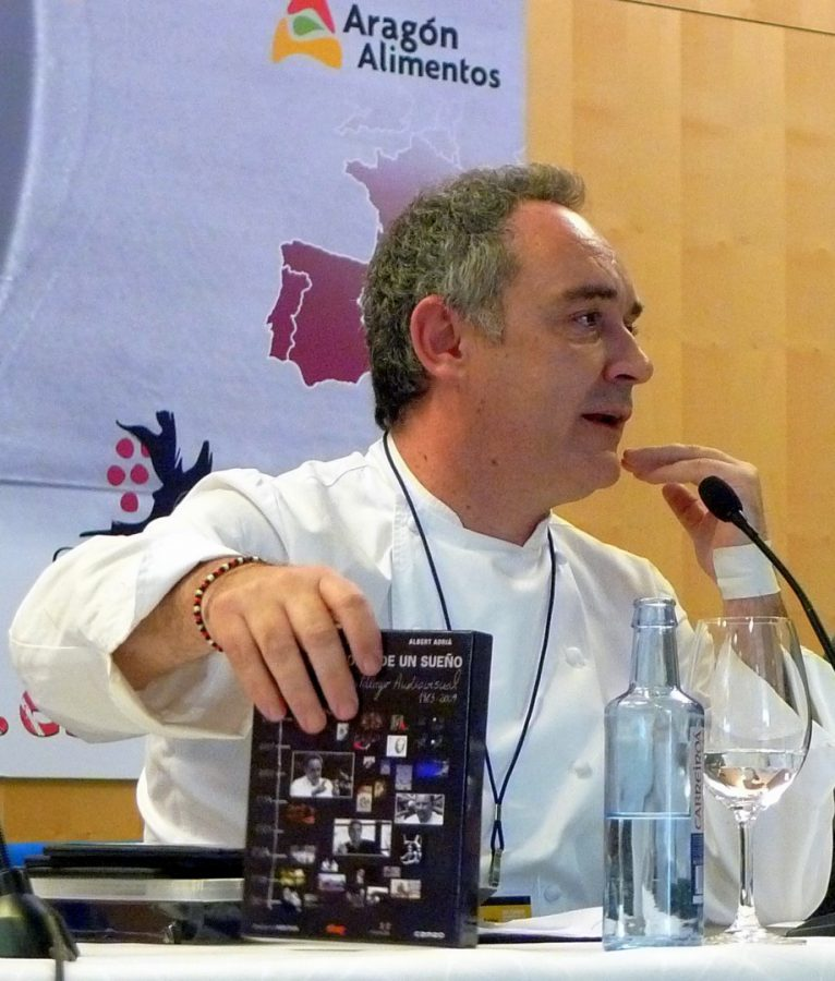Ferrán Adrià en Madrid Fusión