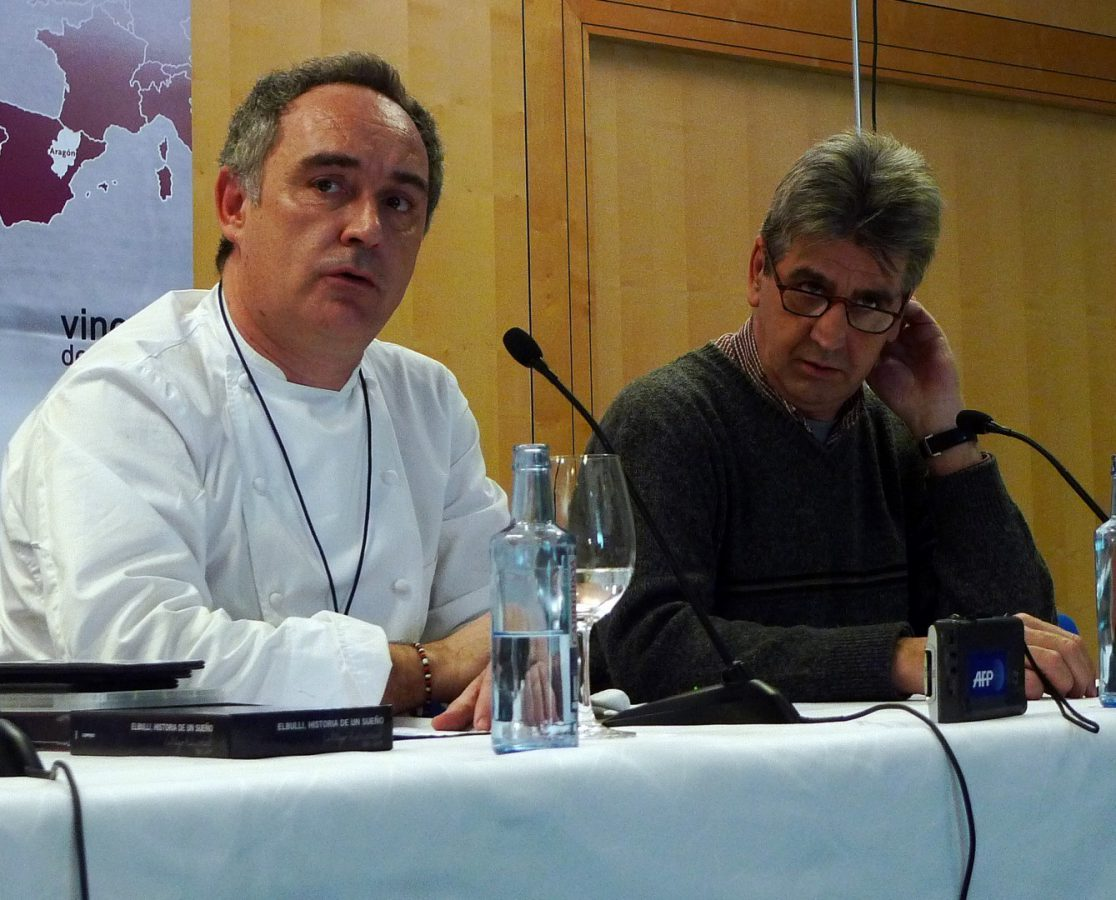 Ferrán Adrià y Juli Soler (1)