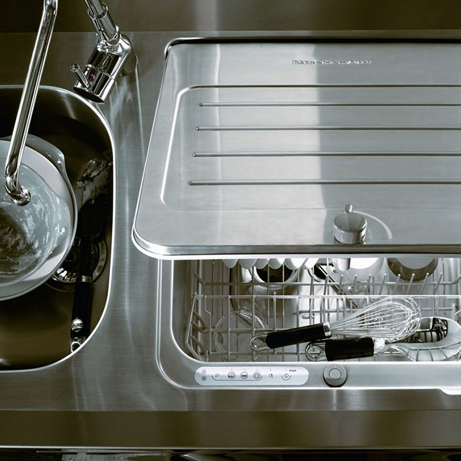 In-Sink el lavavajillas ideal de KitchenAid