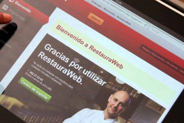 RestauraWeb, reservas on-line para restaurantes