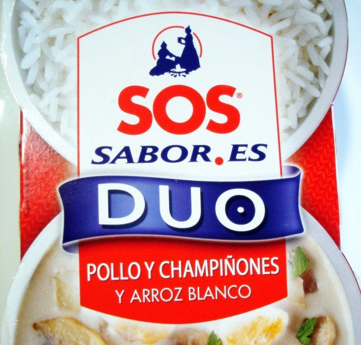 SOS DUO SABOR Arroz con pollo y champiñones (2)