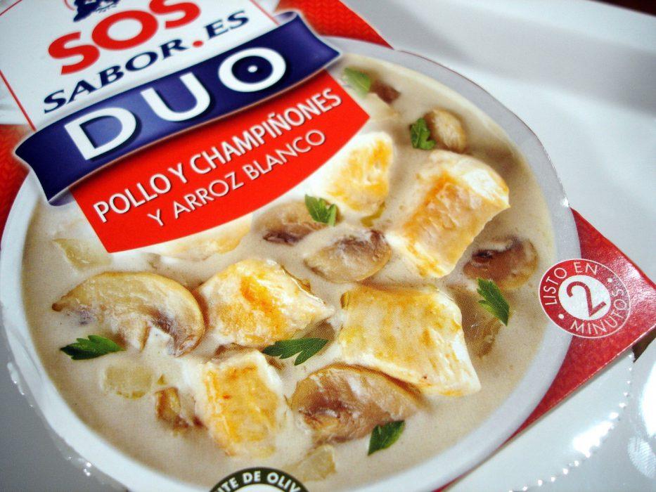 SOS DUO SABOR Arroz con pollo y champiñones (3)