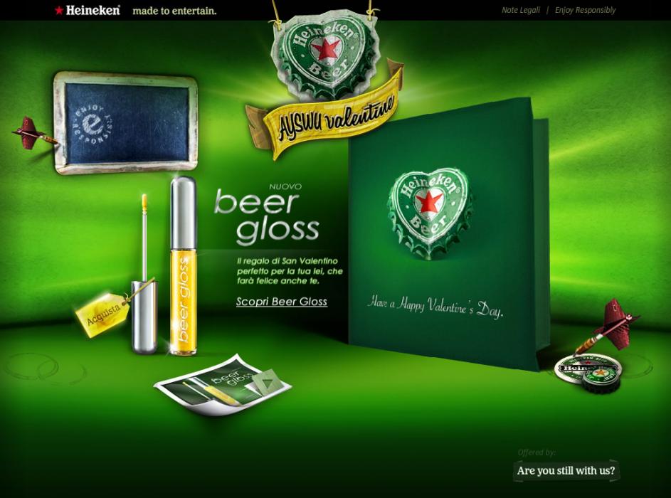 Beer Gloss de Heineken
