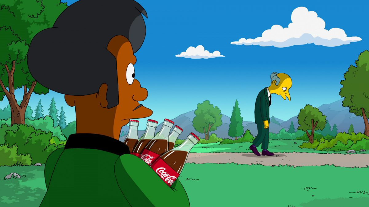 "Coca-Cola ""Hard Times"" Simpsons"