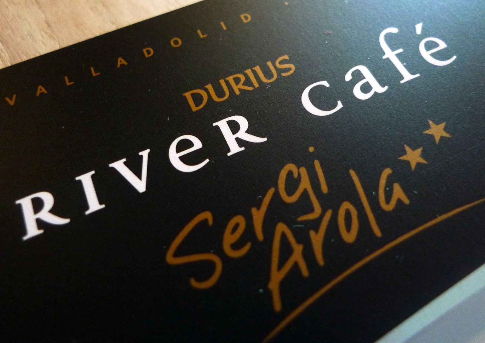 Durius River Cafe - Sergi Arola logo