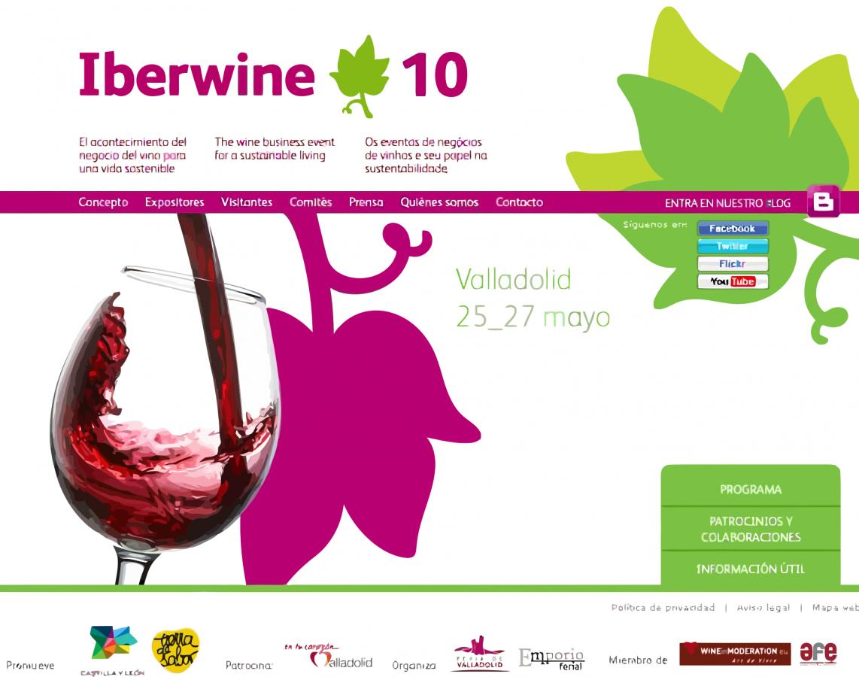 Iberwine 2010 en Valladolid