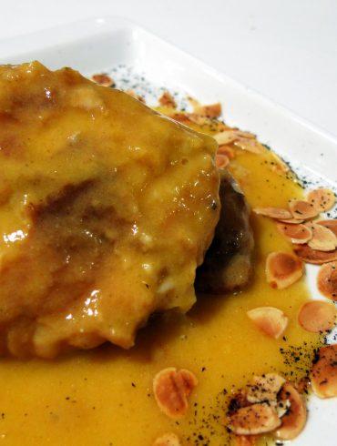 Receta de Merluza en salsa de azafrán