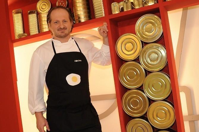 Pepe Vieira en Canal Cocina