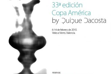 """Quique Dacosta chef oficial de la """"America's Cup"""""""
