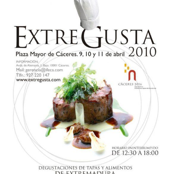 Cartel Feria ExtreGusta 2010