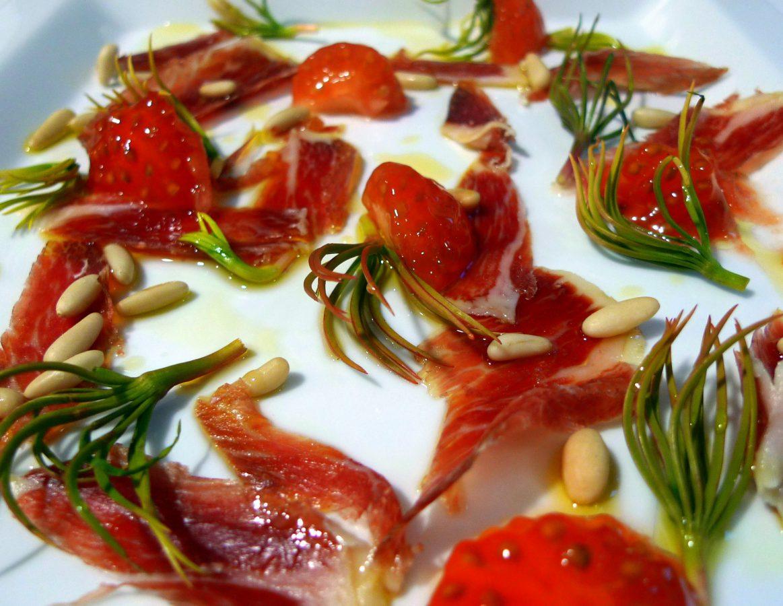 Ensalada de germinados de piñón y jamón ibérico3 (1)