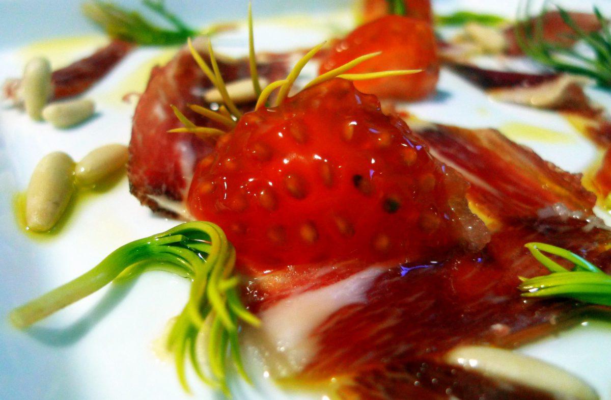 Ensalada de germinados de piñón y jamón ibérico5 (2)