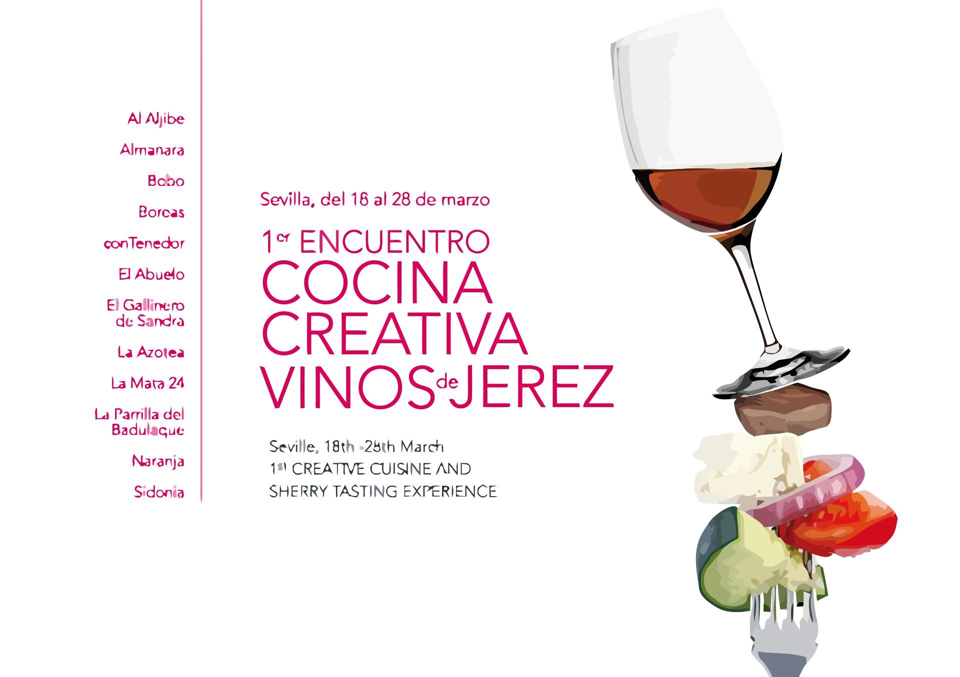 I Encuentro de Cocina Creativa Vinos de Jerez