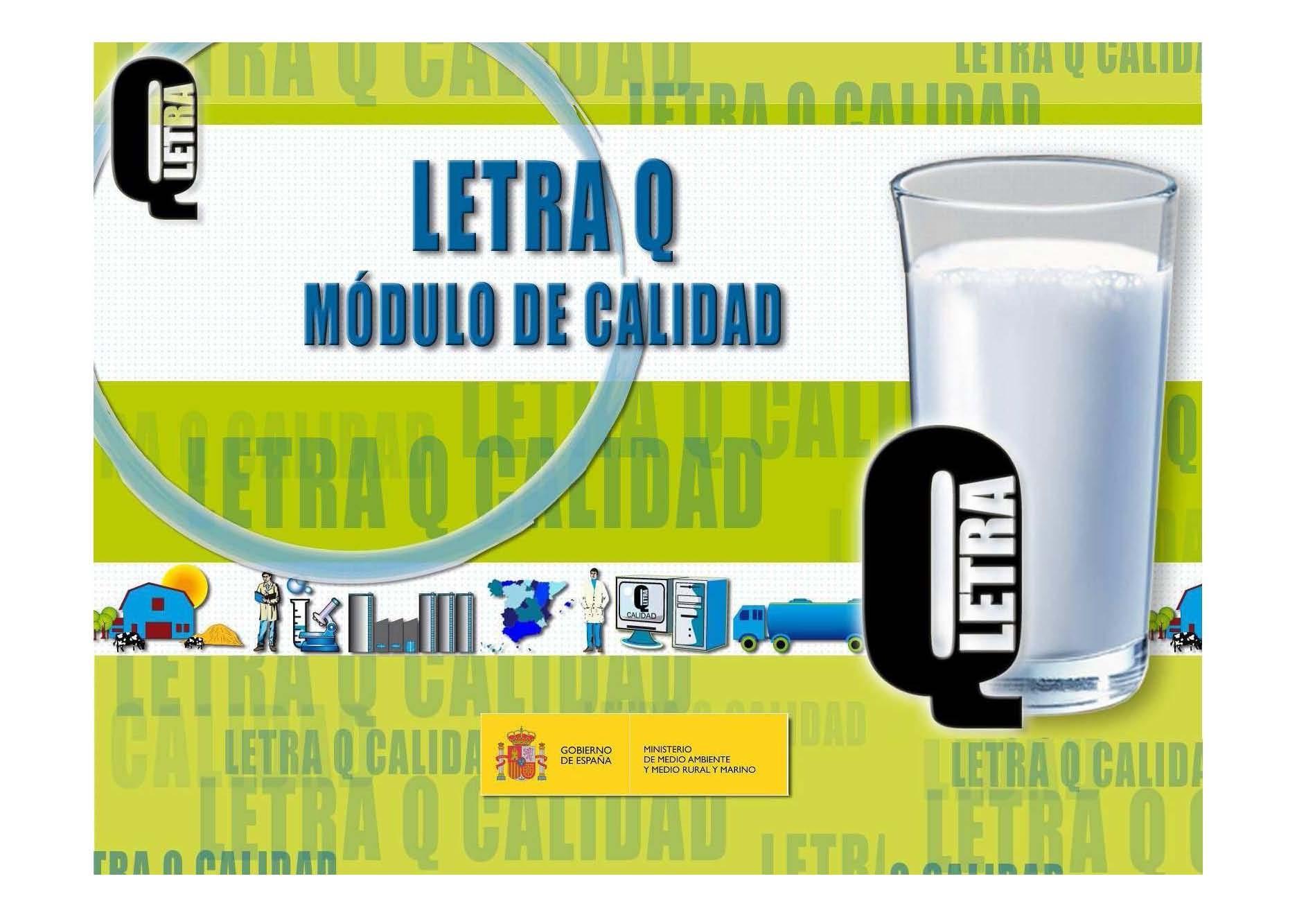 LETRA Q, una hoja de ruta para los productos lácteos