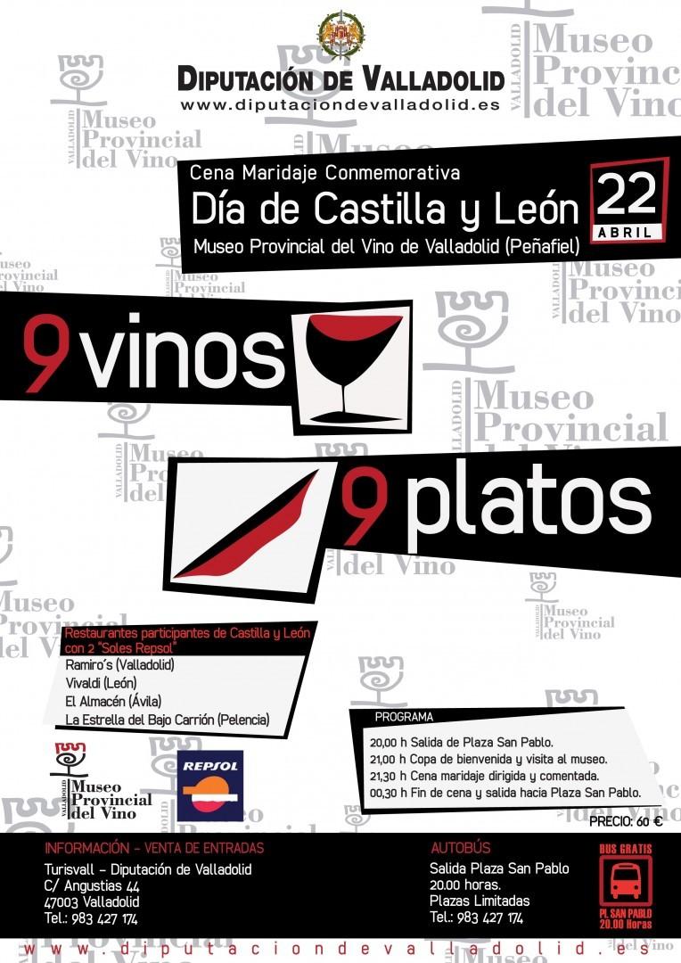 Cena Maridaje Conmemorativa Día de Castilla y León