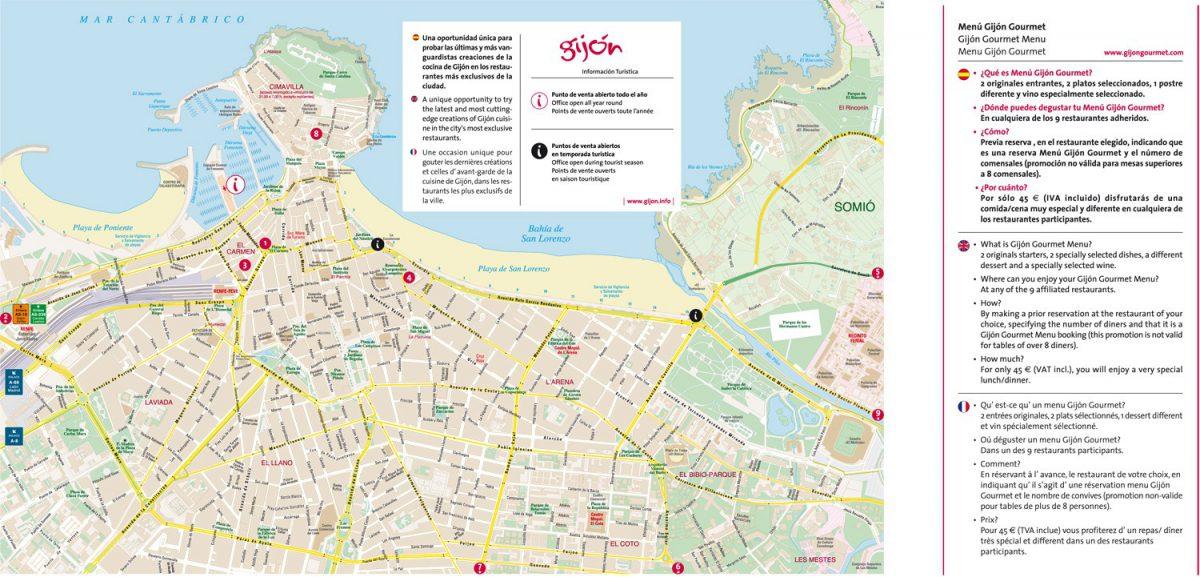 Gijón Gourmet PLANO
