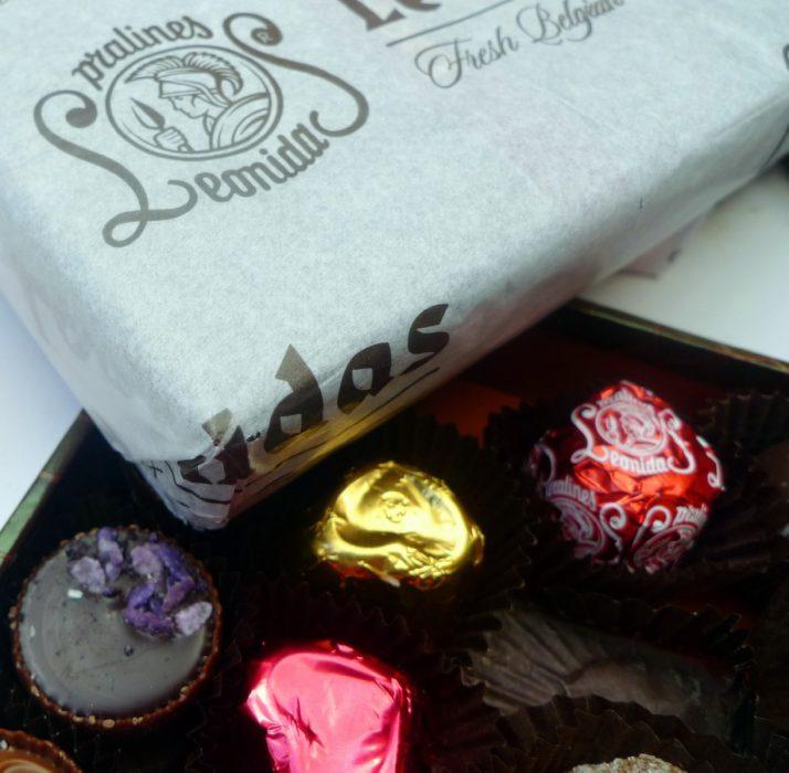 Leónidas, Bombones y Chocolates belgas