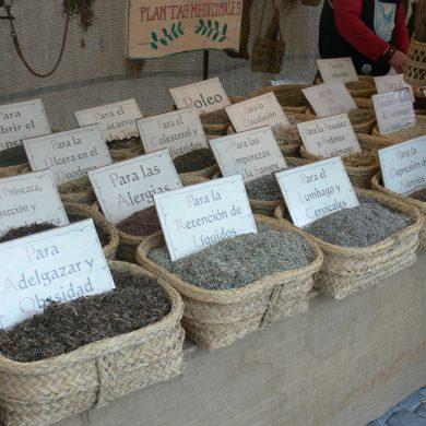 Plantas Medicinales mercado