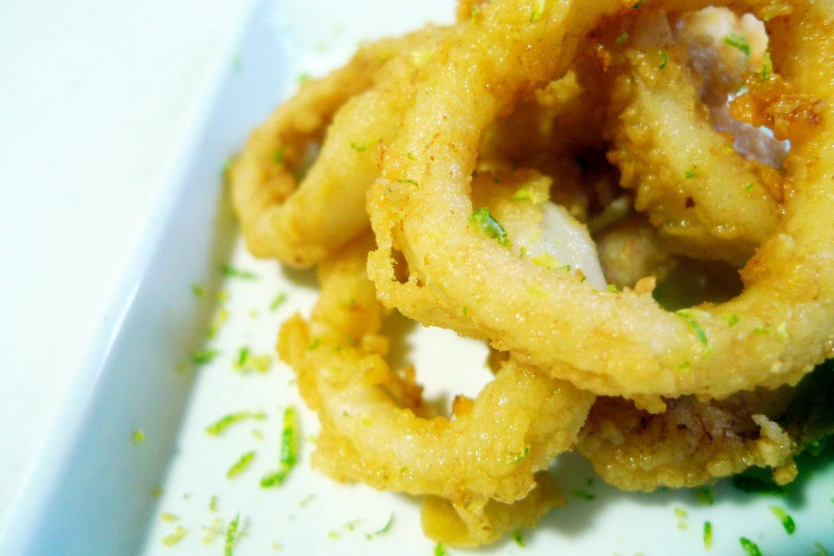 Receta de Calamares rebozados