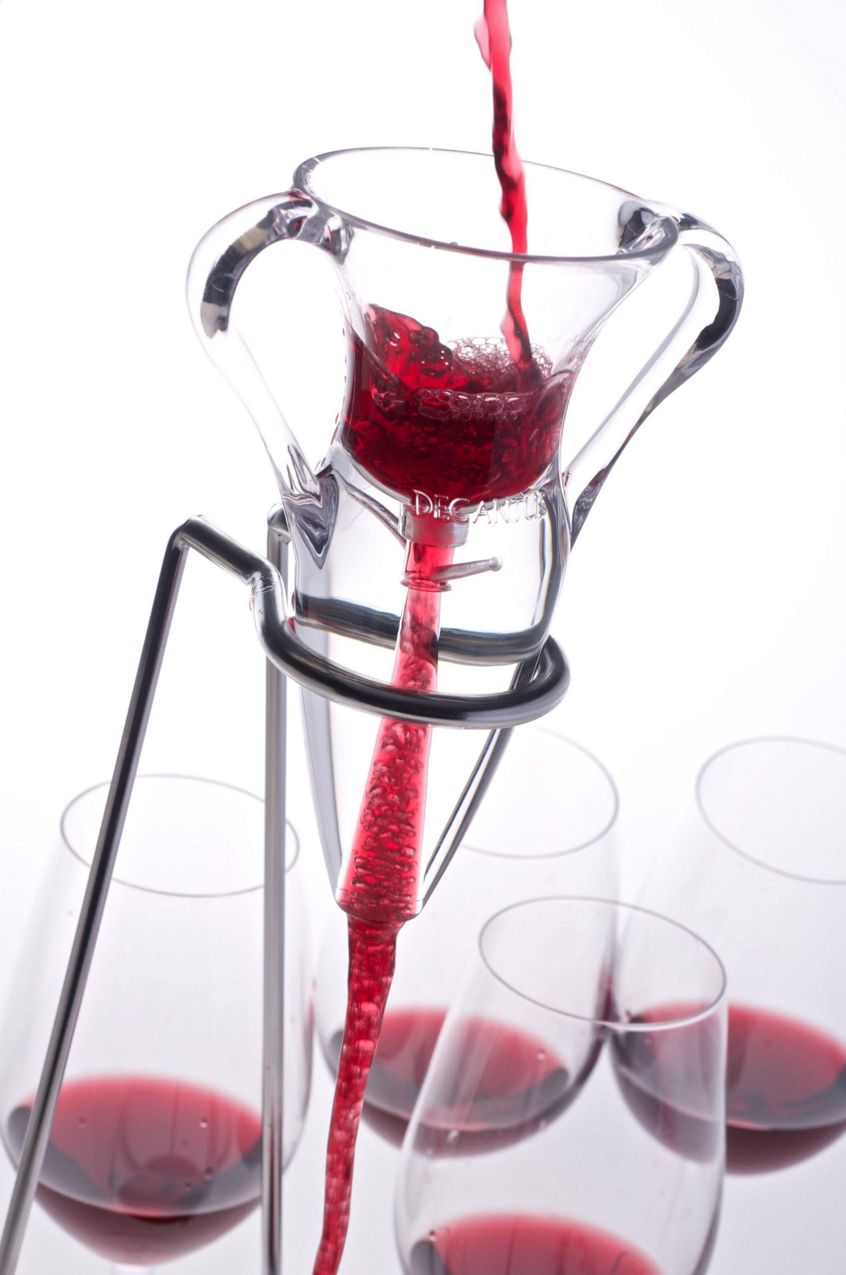 Decantus, un aireador de vinos muy eficaz