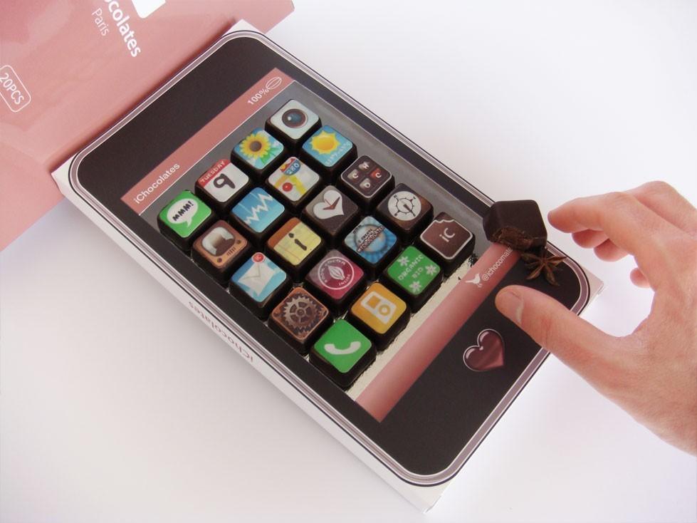 iChocolate o iPhone de Chocolate 2