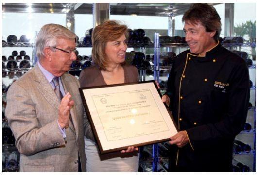 Jesús Ramiro, Premio Nacional de Gastronomía