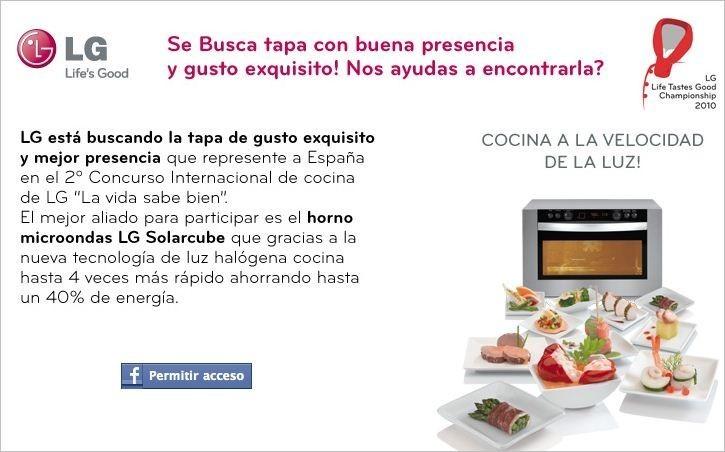 """2º Concurso Internacional de Cocina """"La vida sabe bien"""""""