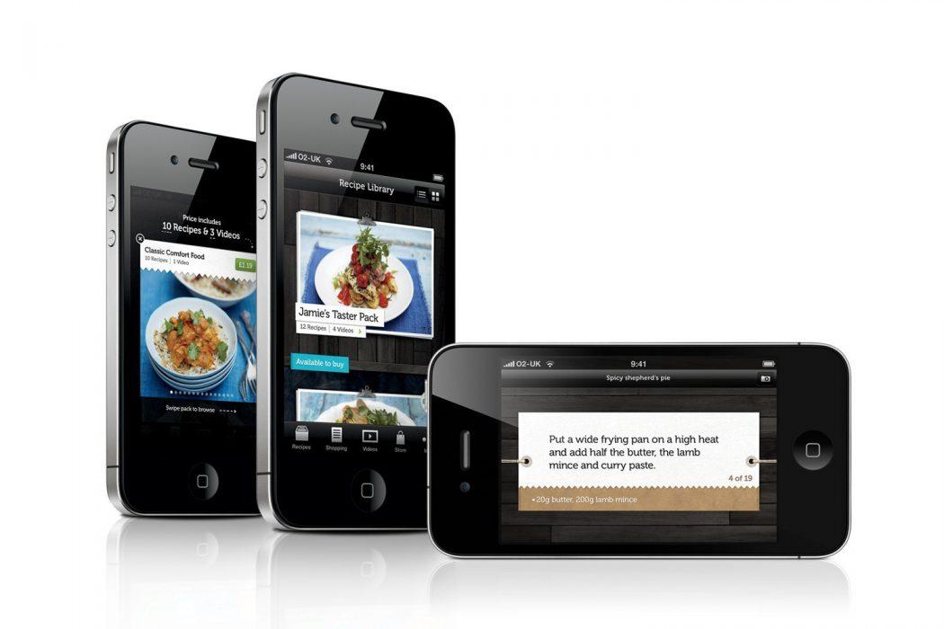 Jamie Oliver's 20 Minute Meals. Una de las cinco mejores aplicaciones para iPhone