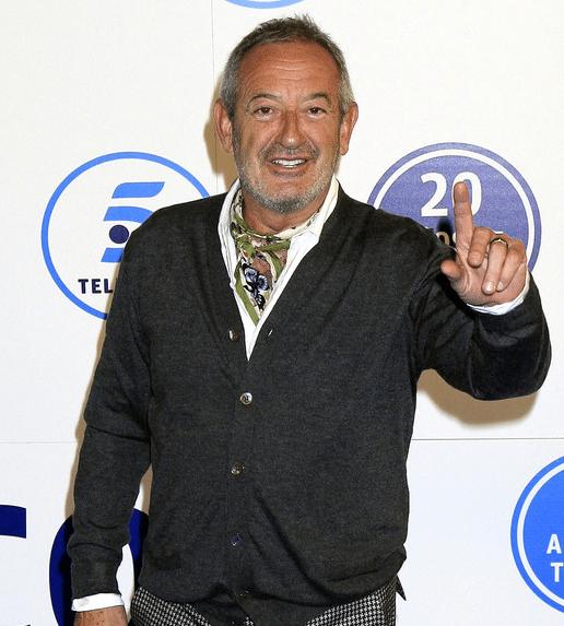 El cocinero Karlos Arguiñano, en la gala 20 aniversario de Telecinco en Madrid (Gtres)