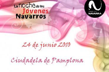 La Noche de los Jóvenes Navarros en Pamplona