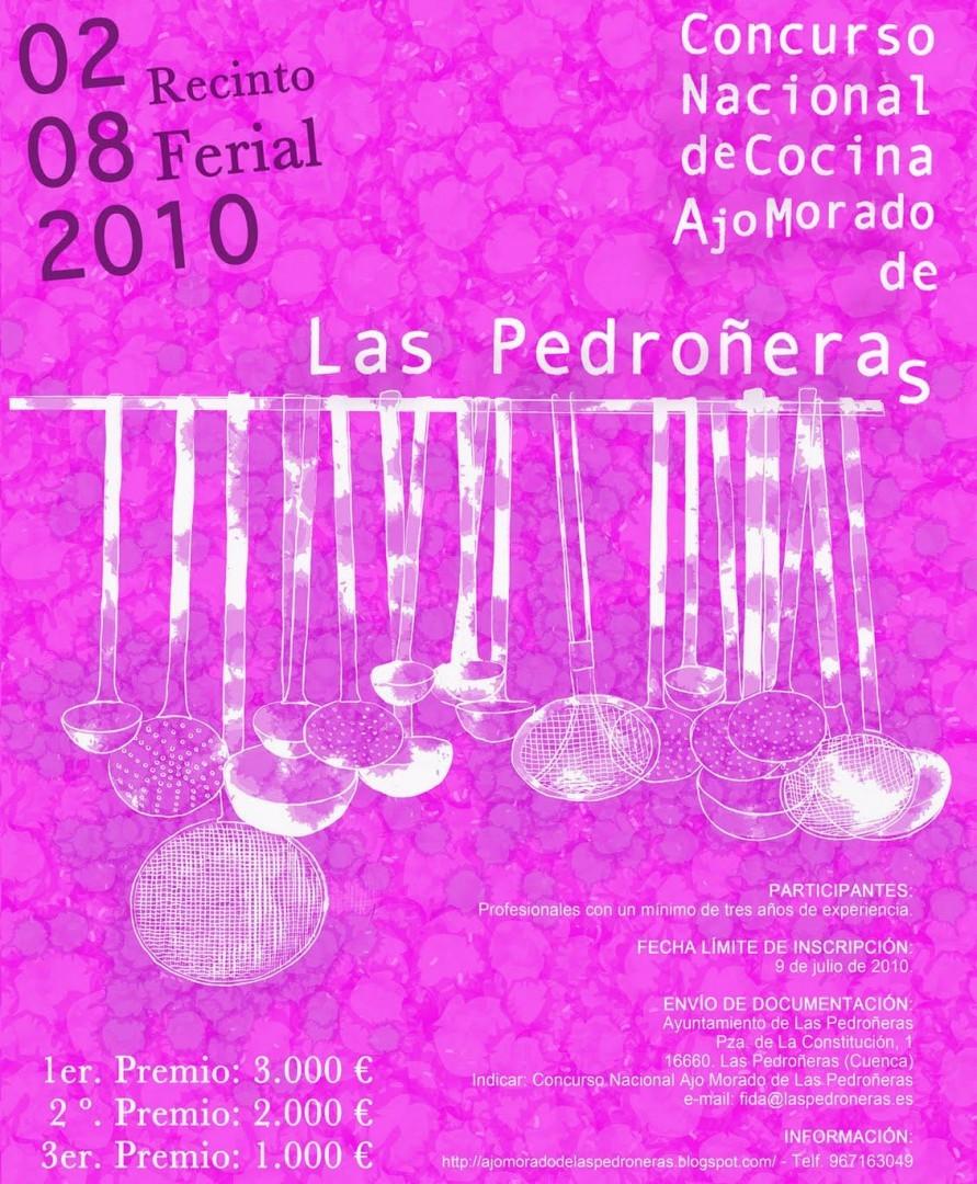 II Concurso Nacional de Cocina Ajo Morado de Las Pedroñeras
