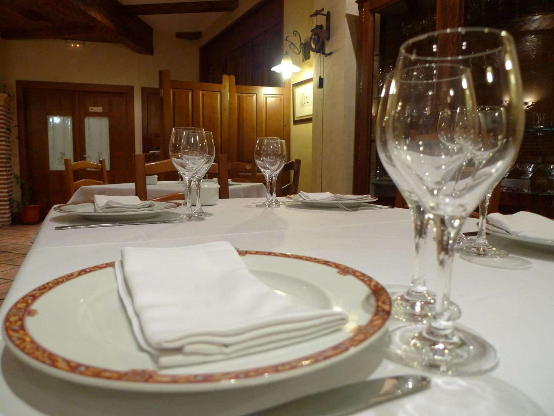 Interior del Restaurante Cabrera Chañe