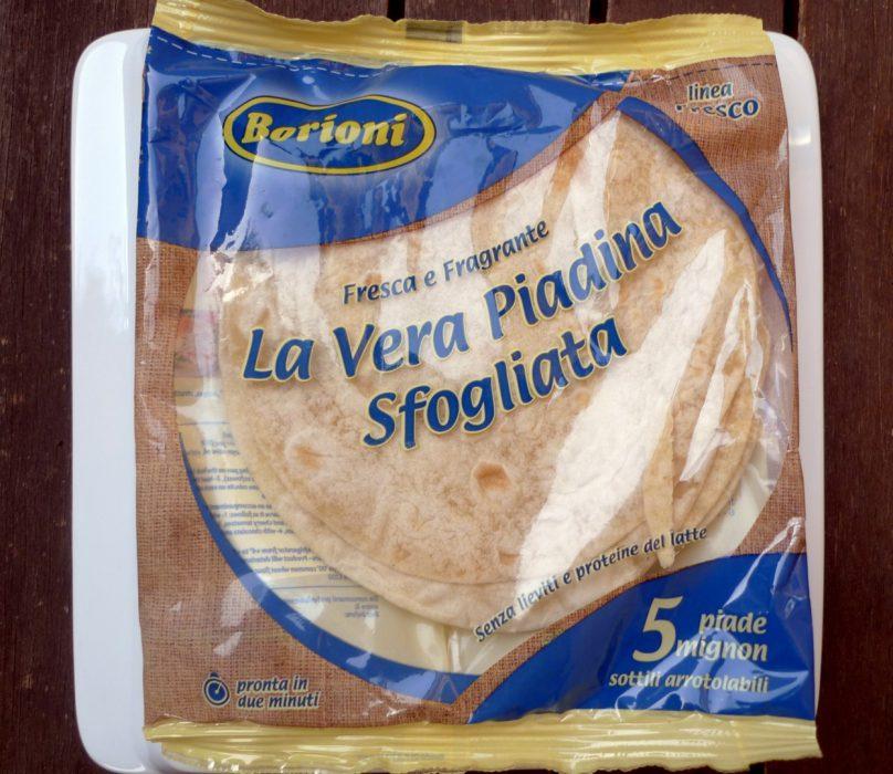 La Piadina, un pan típico de Italia (2)