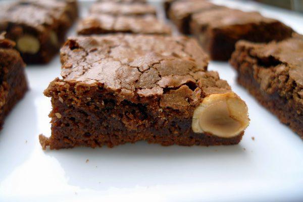Brownie de Chocolate y Avellanas