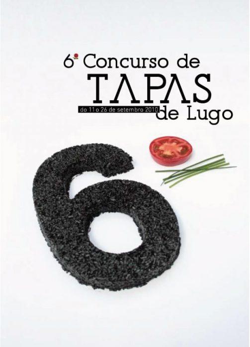 Cartel VI Concurso de Tapas de Lugo