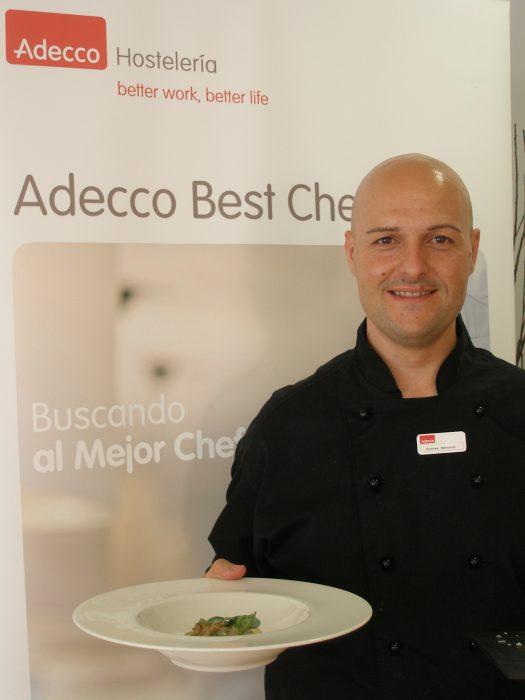 Andrea Benardi es el ganador del Adecco Best Chef 2010