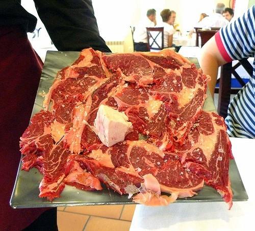 Carne de Cabu a la Teja - Restaurante El Riscal