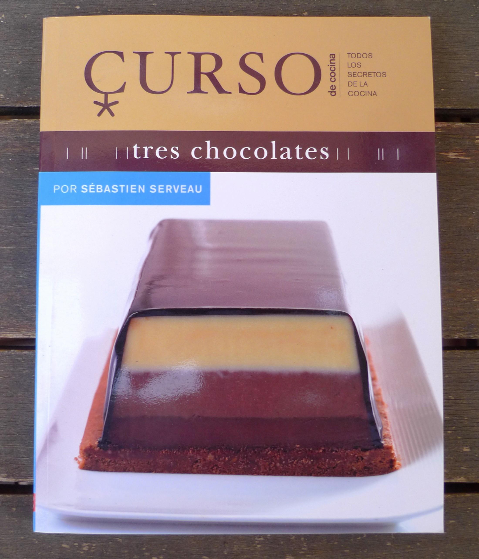 Libro Curso de Cocina Tres chocolates