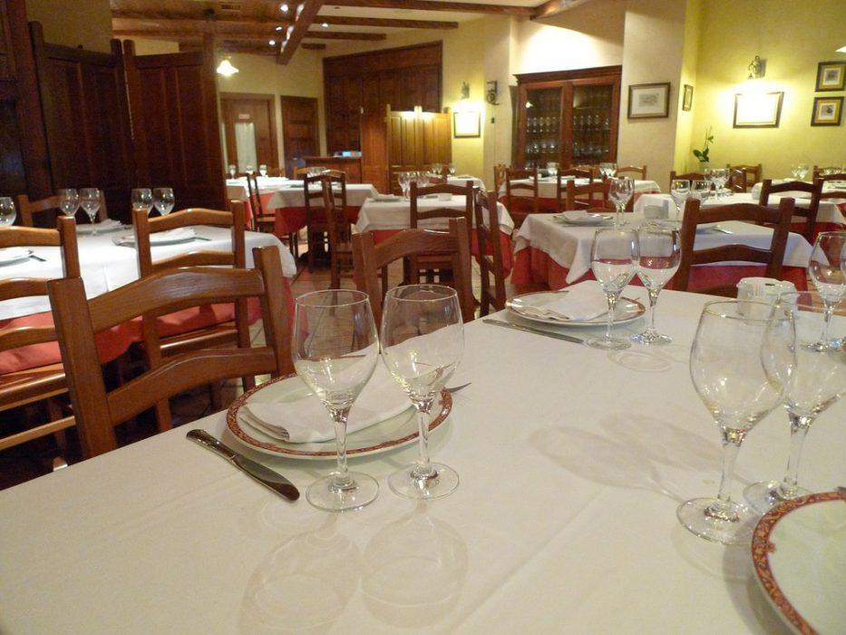 Interior restaurante Cabrera