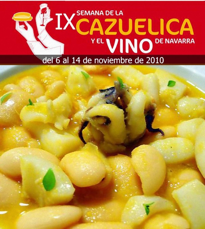 IX Semana de la Cazuelica y el Vino de Navarra