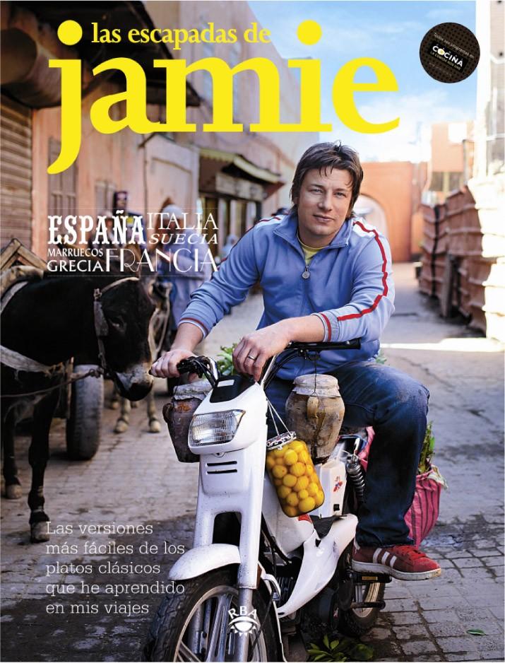 Portada del libro Las Escapadas de Jamie Oliver
