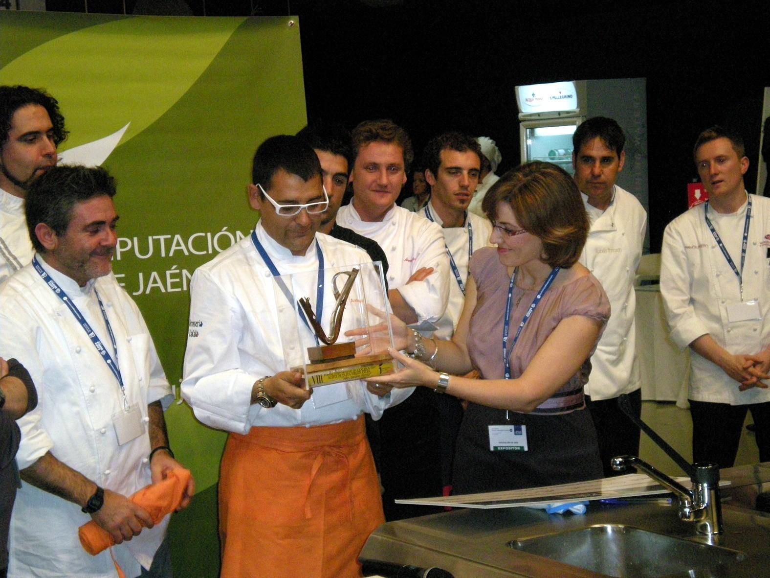 """Andreu Ruíz ganador del Premio de Cocina """"Jaén, paraíso interior"""""""