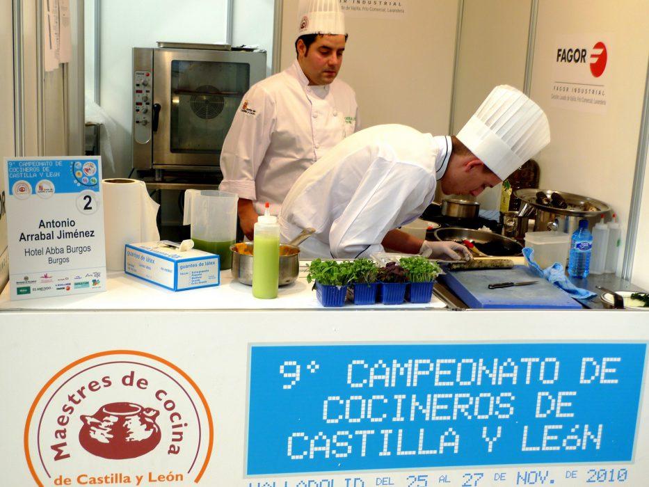 campeonato de cocineros de castilla y leon