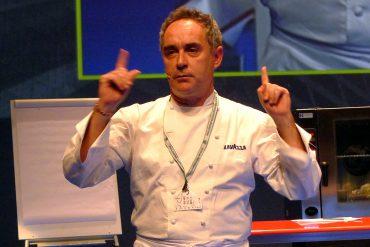 Ferrán Adrià en San Sebastián Gastronomika 2010