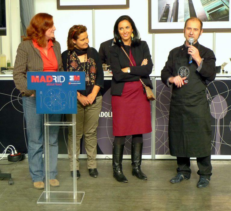 Jornadas Gastronomikas de Madrid en INTUR