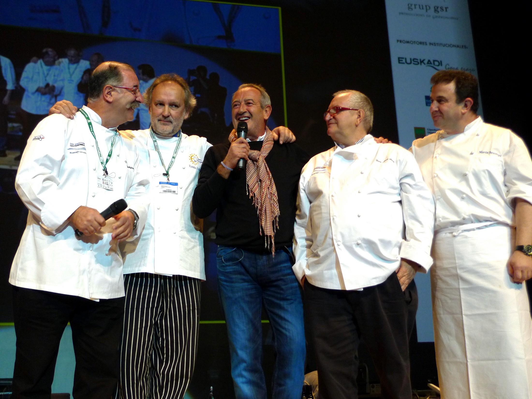 karlos Arguiñano San Sebastian Gastronomika 2010