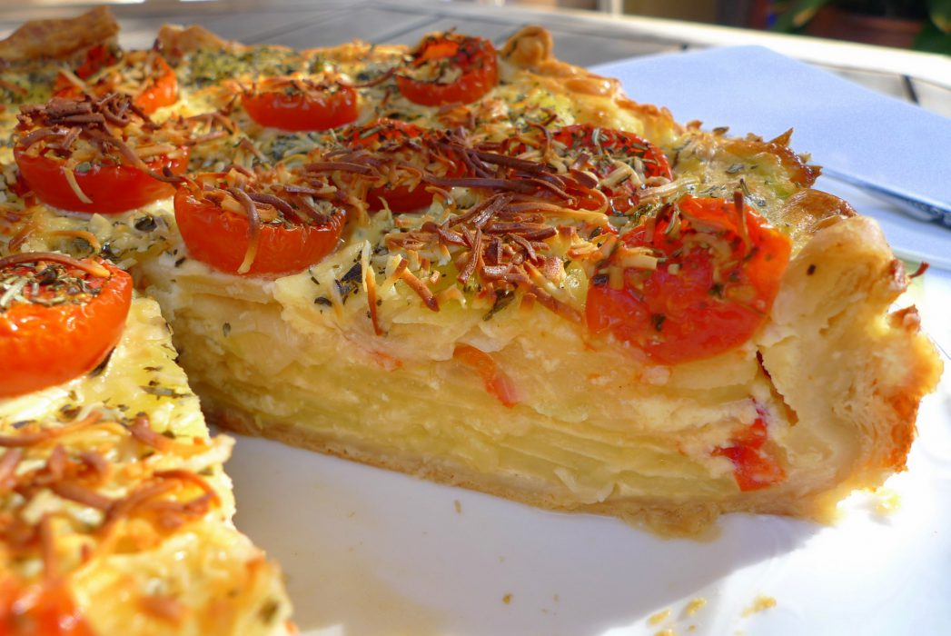 Pastel de Patatas y Calabacín