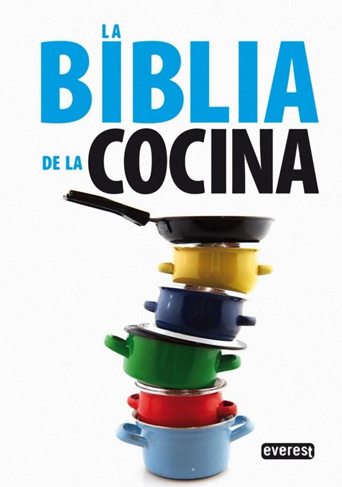 Portada La Biblia de la Cocina