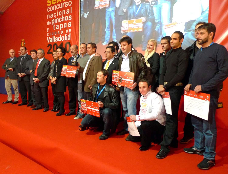 Premiados VI Concurso Nacional de Pinchos y Tapas de Valladolid